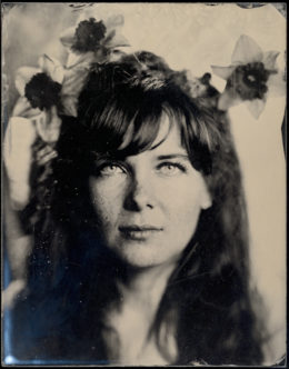 Wet plate collodion ambrotype, 7 x 9 inches