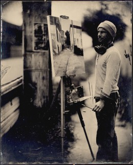 Wet plate collodion ambrotype, 11 x 14 inches