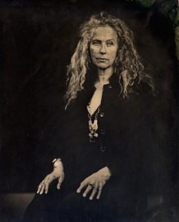 Wet plate collodion ambrotype, 10 x 12 inches