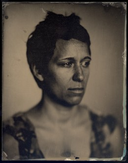 Wetplate Collodion Ambrotype, 7 x 9 inches
