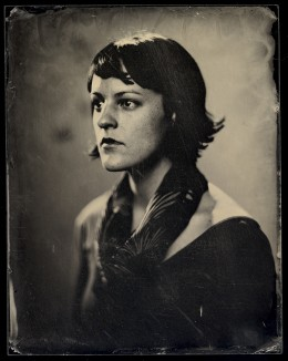Wetplate Collodion Ambrotype, 7 x 9inches