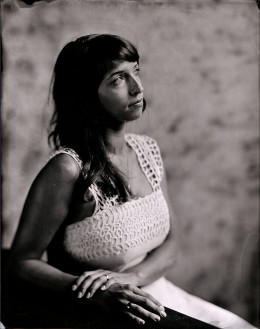 8 x 10 print from collodion negative