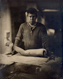 Wet plate collodion ambrotype, 11 x 14 inches.