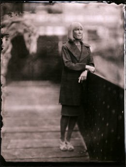 Contact print from collodion negative, 11 x 14 inches